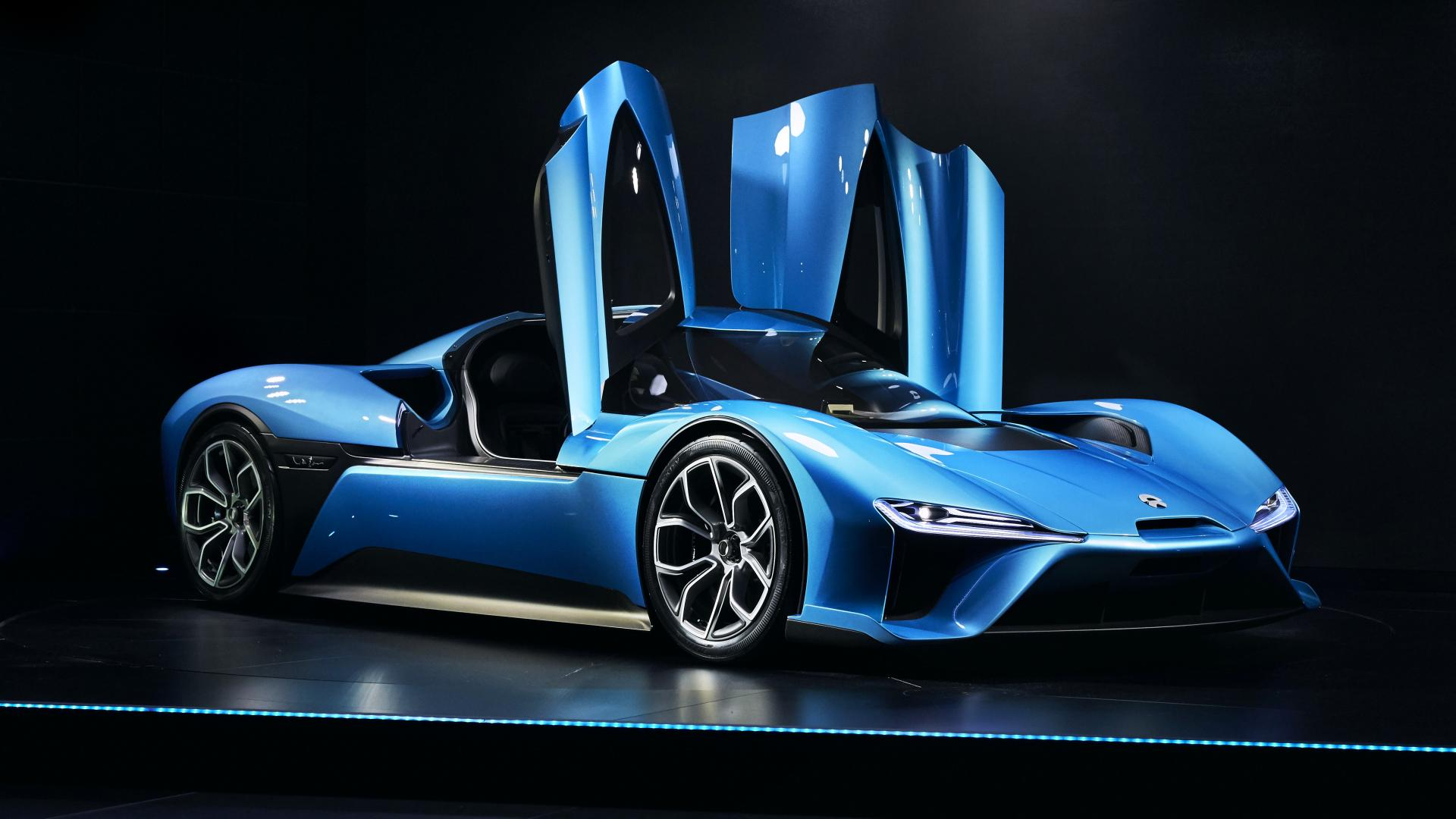 Nio Nextev Launches Nio Brand And World S Fastest Electric Car