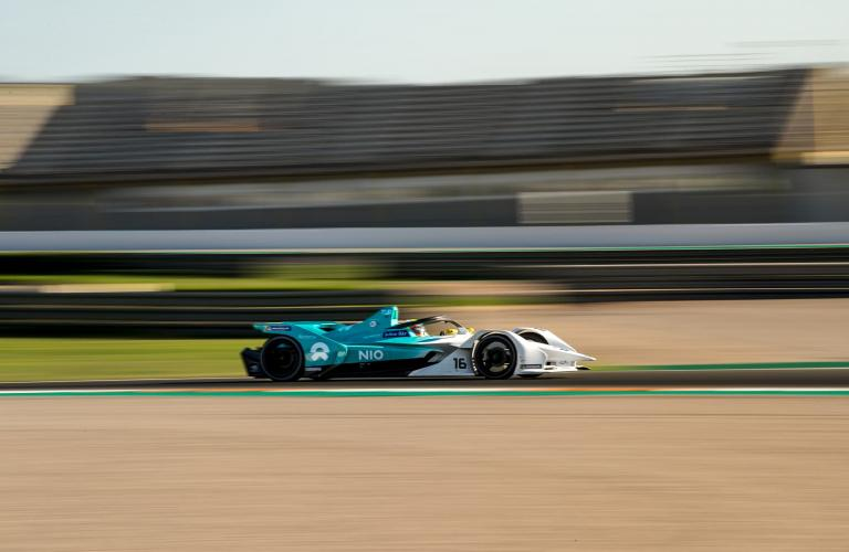 Positive Start to Formula E Pre-Season For NIO in Valencia