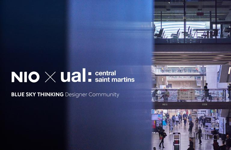 NIO and Central Saint Martins Announce Partnership to Launch New Design Initiative
