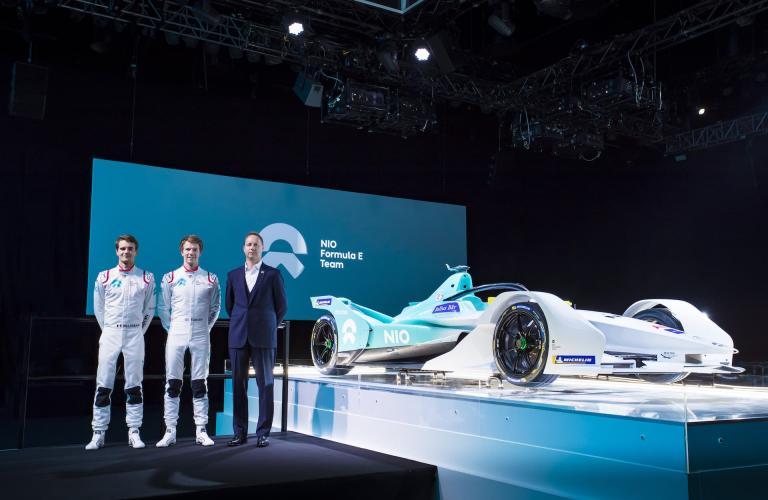 NIO Relishing Three Day Pre-Season Formula E Test in Spain