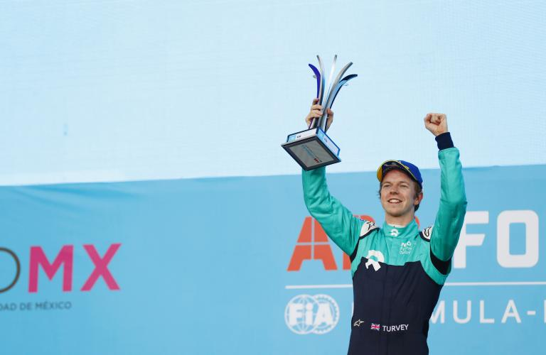 First Podium for Oliver Turvey and NIO Formula E Team in Mexico City