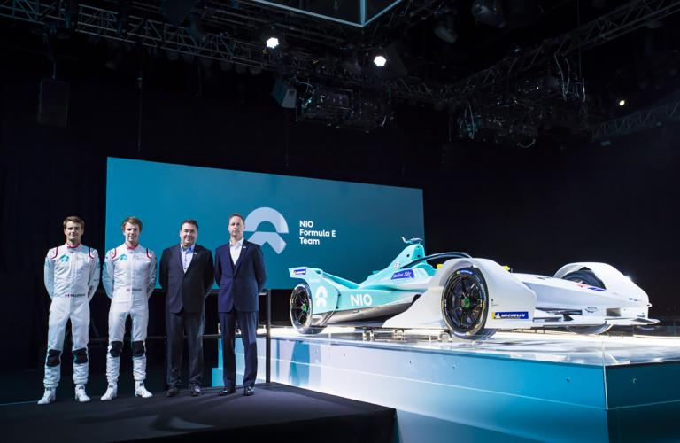 New Car, Driver Line-Up and Official Partner - NIO Formula E Team Proudly Launches 2018/2019 Formula E Programme