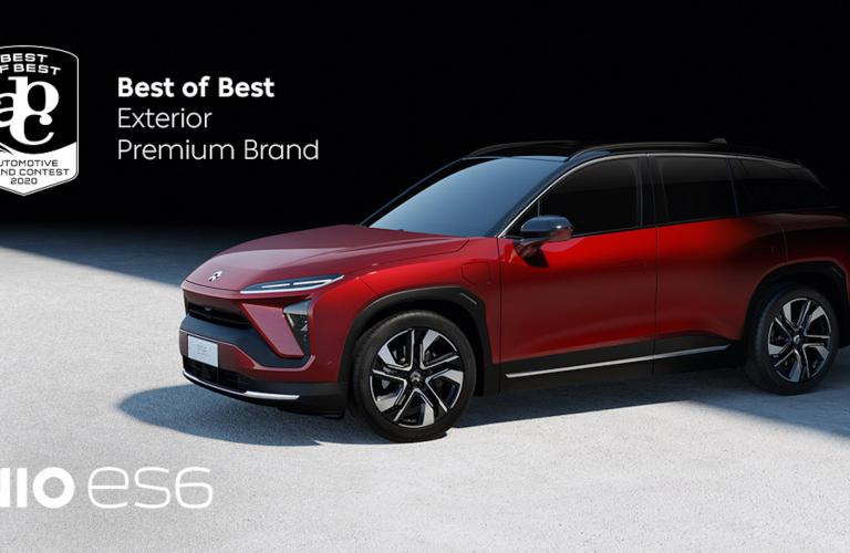 "NIO wins ""Best of Best"" at the Automotive Brand Contest with ES6"
