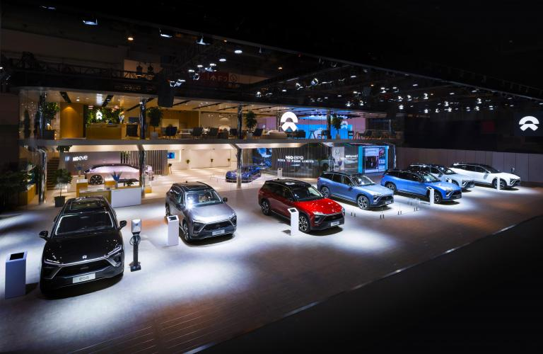 NIO House Opens at Auto China 2018: NIO Unveils Six-Seater ES8