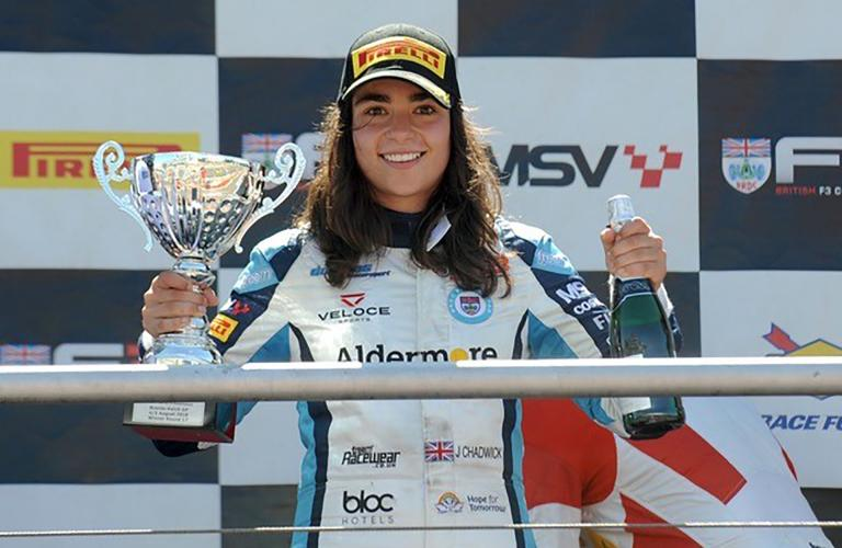 NIO Supporting Female Talent After Confirming Rising British Star Jamie Chadwick for Official Formula E Test in Riyadh