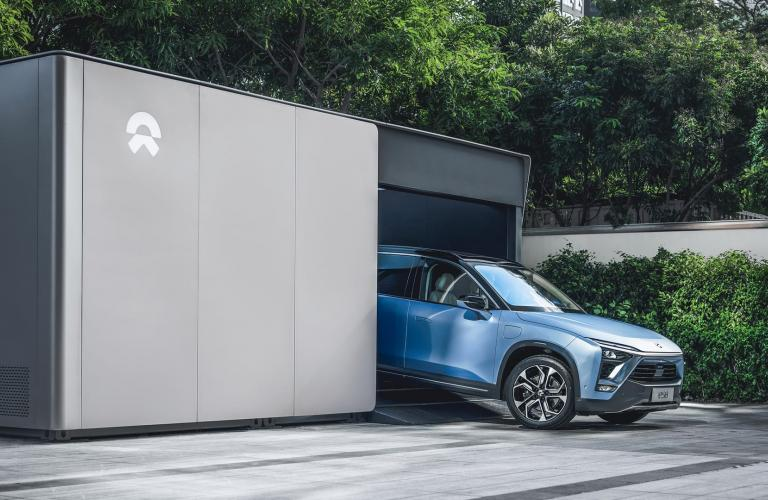 NIO Power Completes 500,000 Battery Swaps